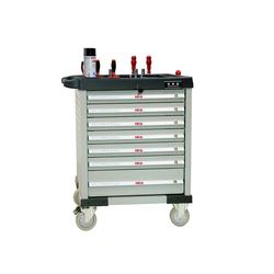 ATIS CT707 Инструментальная тележка 350кг, 7 полок, 800*470*900мм Atis Мебель металлическая Сервисное оборудование